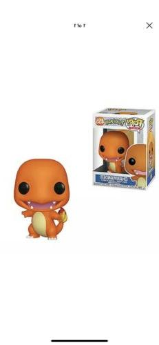 Funko Pop! Games: Charmander Vinyl Figure ONLY US,Canada
