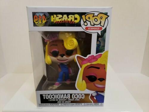 pop games crash bandicoot coco new toys