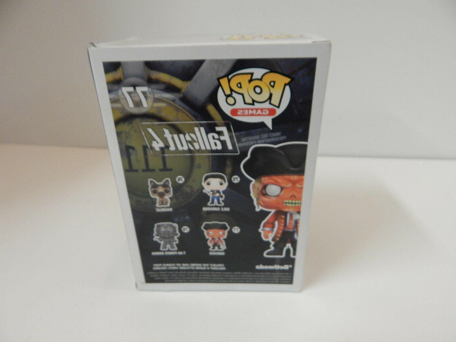 Funko POP! Games Fallout 4 Hancock # Collectible Figure