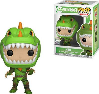 pop games fortnite s1a rex new toy