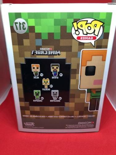FUNKO POP! Minecraft - Alex Vinyl #317 Mojang