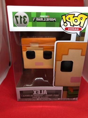 pop games minecraft alex new toy vinyl