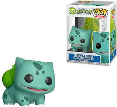 pop games pokemon bulbasaur new toys vinyl