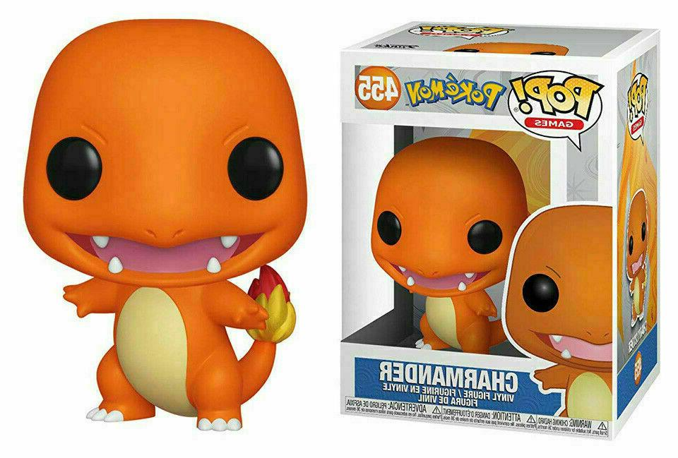 pop games pokemon charmander 455 vinyl figure