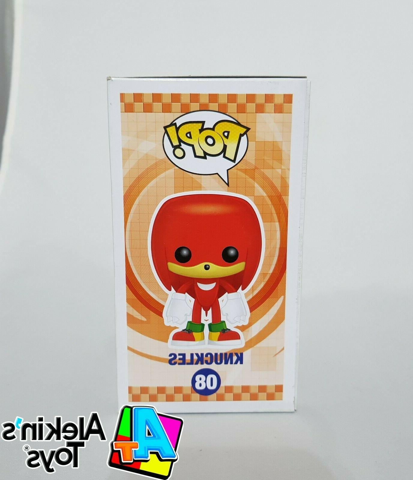 Funko Pop! Games: Sonic the Hedgehog #08 Box