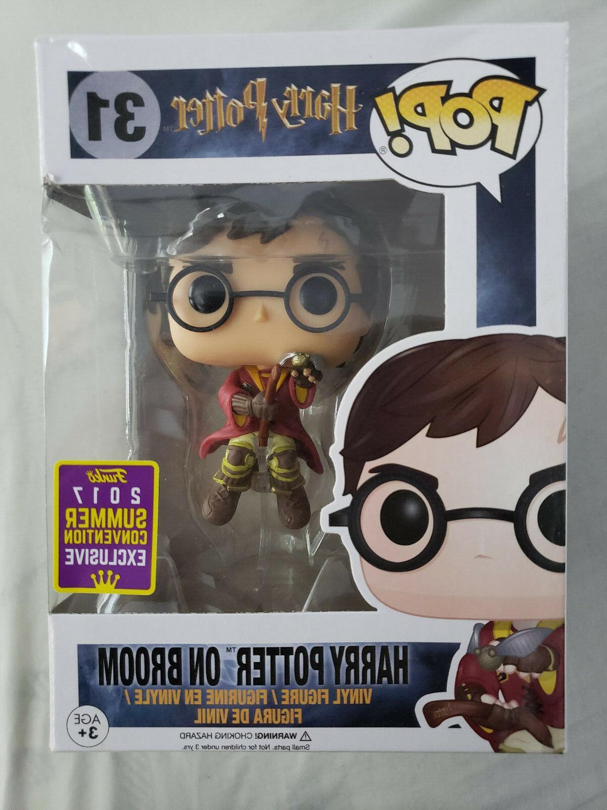 Funko Pop Harry Potter On Broom 2017 SDCC Exclusive 31 Vinyl