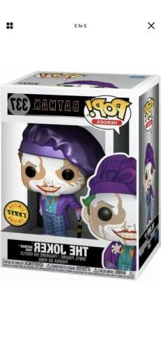Funko Pop Heroes: Batman 1989 Joker With Hat Chase Vinyl Fig