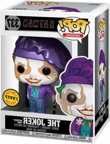 Funko Pop 1989 Joker With Hat Chase Vinyl