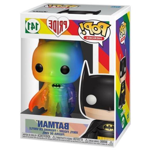 Funko Heroes Batman Pride Rainbow Figure