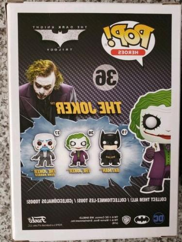 Funko Heroes The Joker Vinyl Figure The Dark Knight Batman