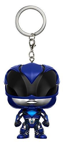 Funko Pop Keychain: Power Rangers Blue Ranger Toy Figure