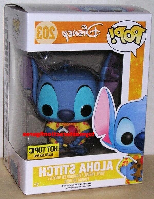 pop lilo and stitch aloha stitch 203