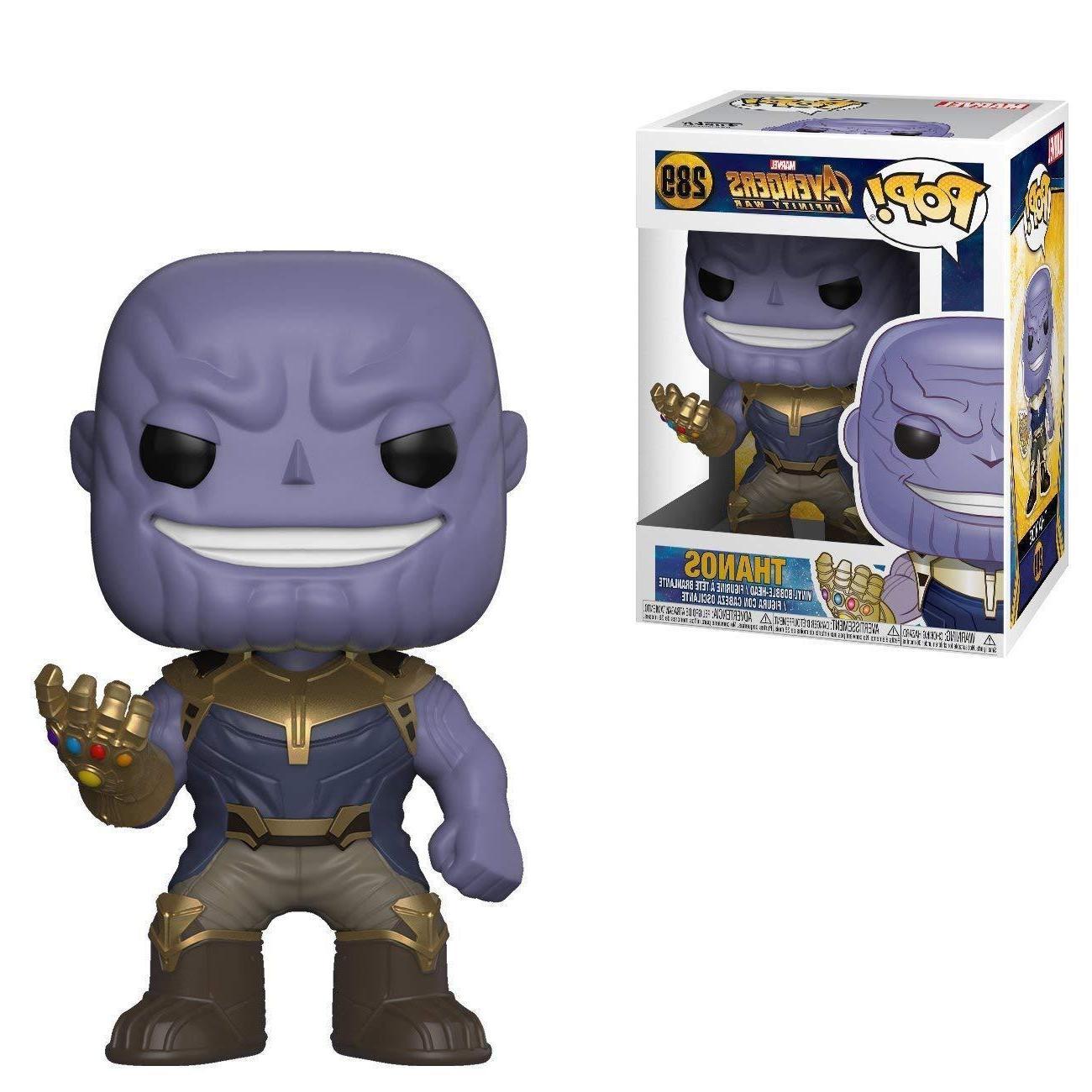 pop marvel avengers infinity war thanos