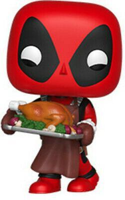 FUNKO POP! MARVEL: Holiday - Deadpool  Vinyl Figure