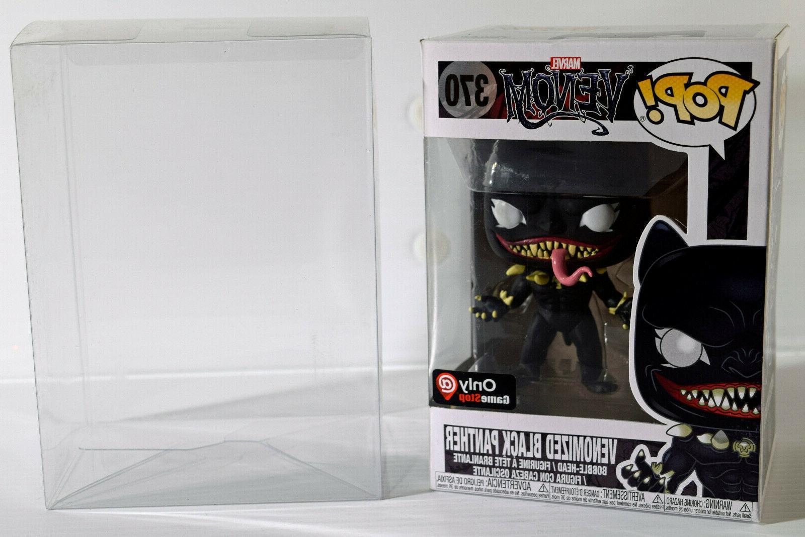 Funko POP! Marvel Venom Venomized BLACK PANTHER Figure Exc.