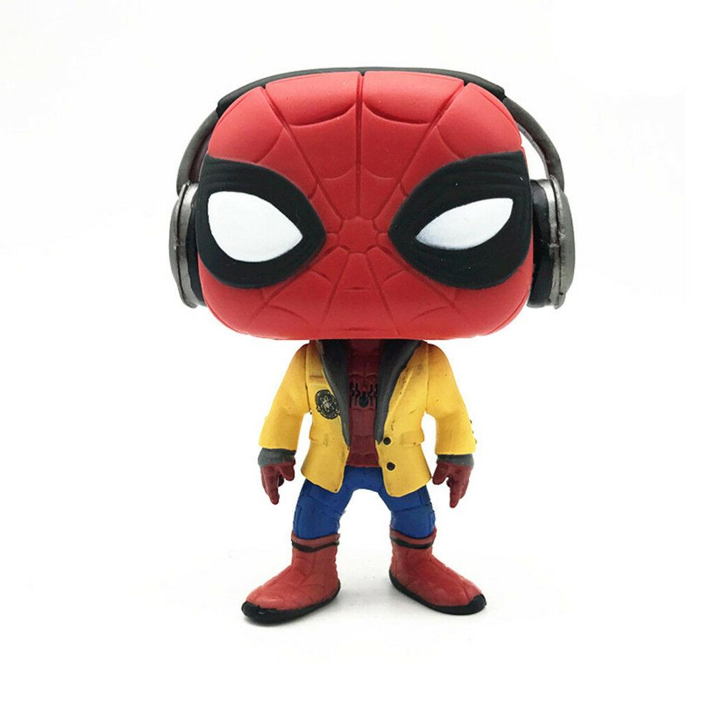 Funko Pop! Movies:Spider-Man HC-Spider-Man W/Headphones Collectible