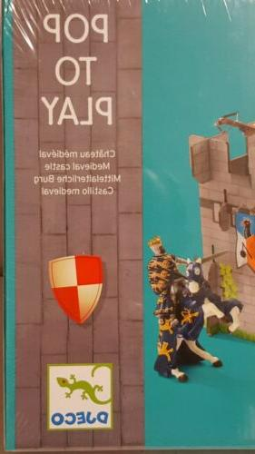 djeco medieval castle sealed toy papo