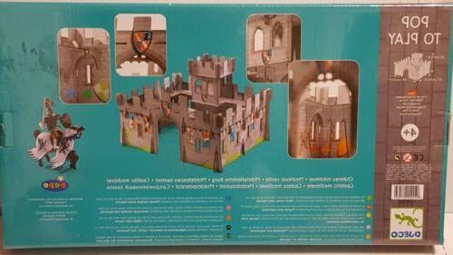 djeco medieval castle new sealed toy papo