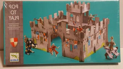 pop play medieval castle playset