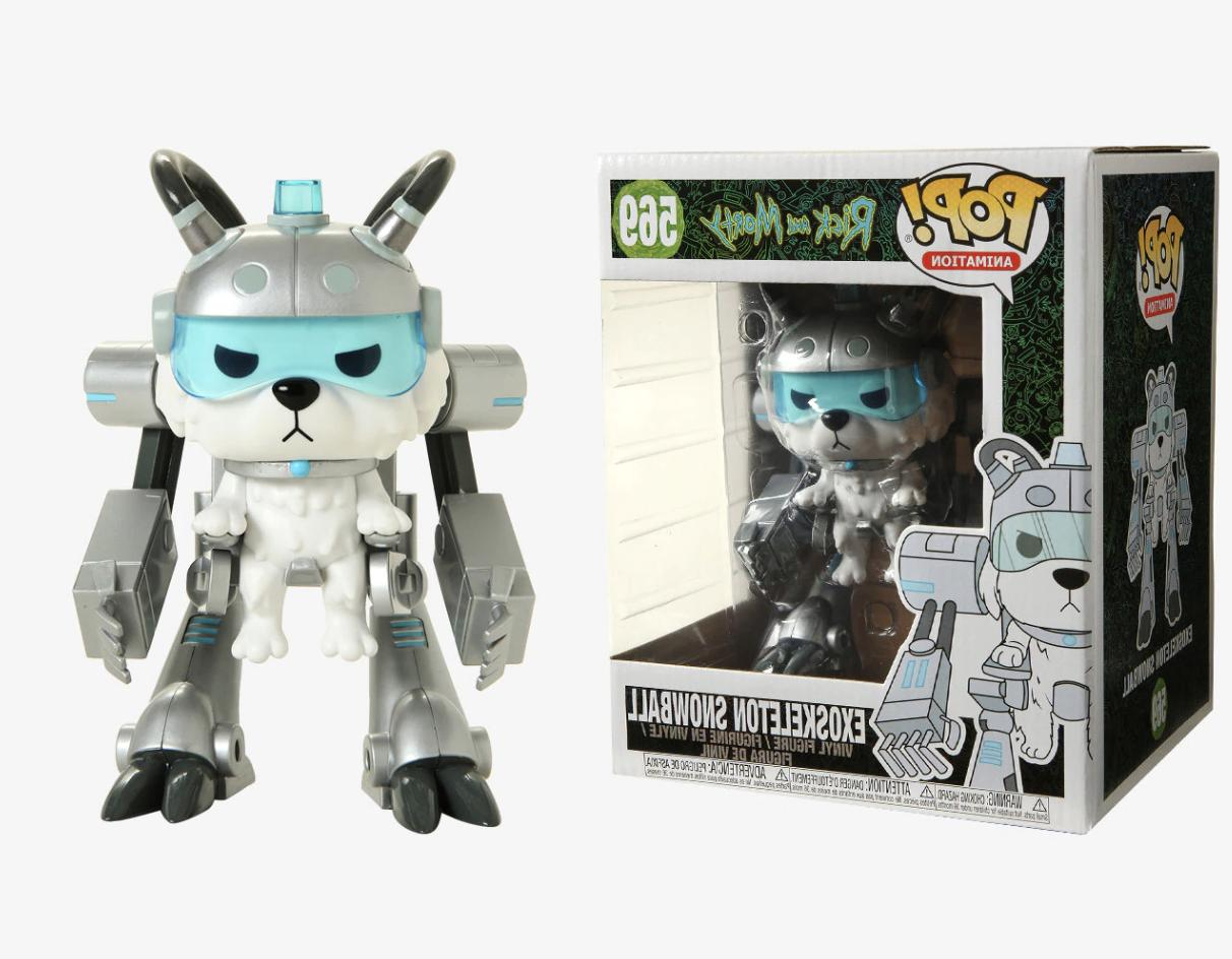 pop rick and morty exoskeleton snowball 6