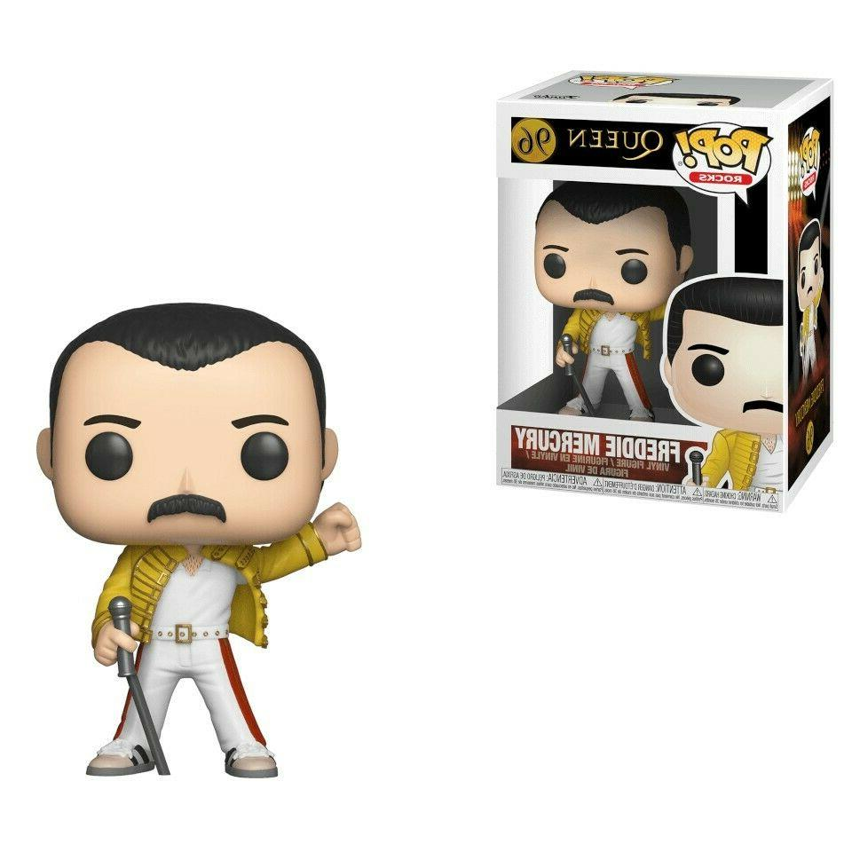 pop rocks queen freddie mercury wembley action