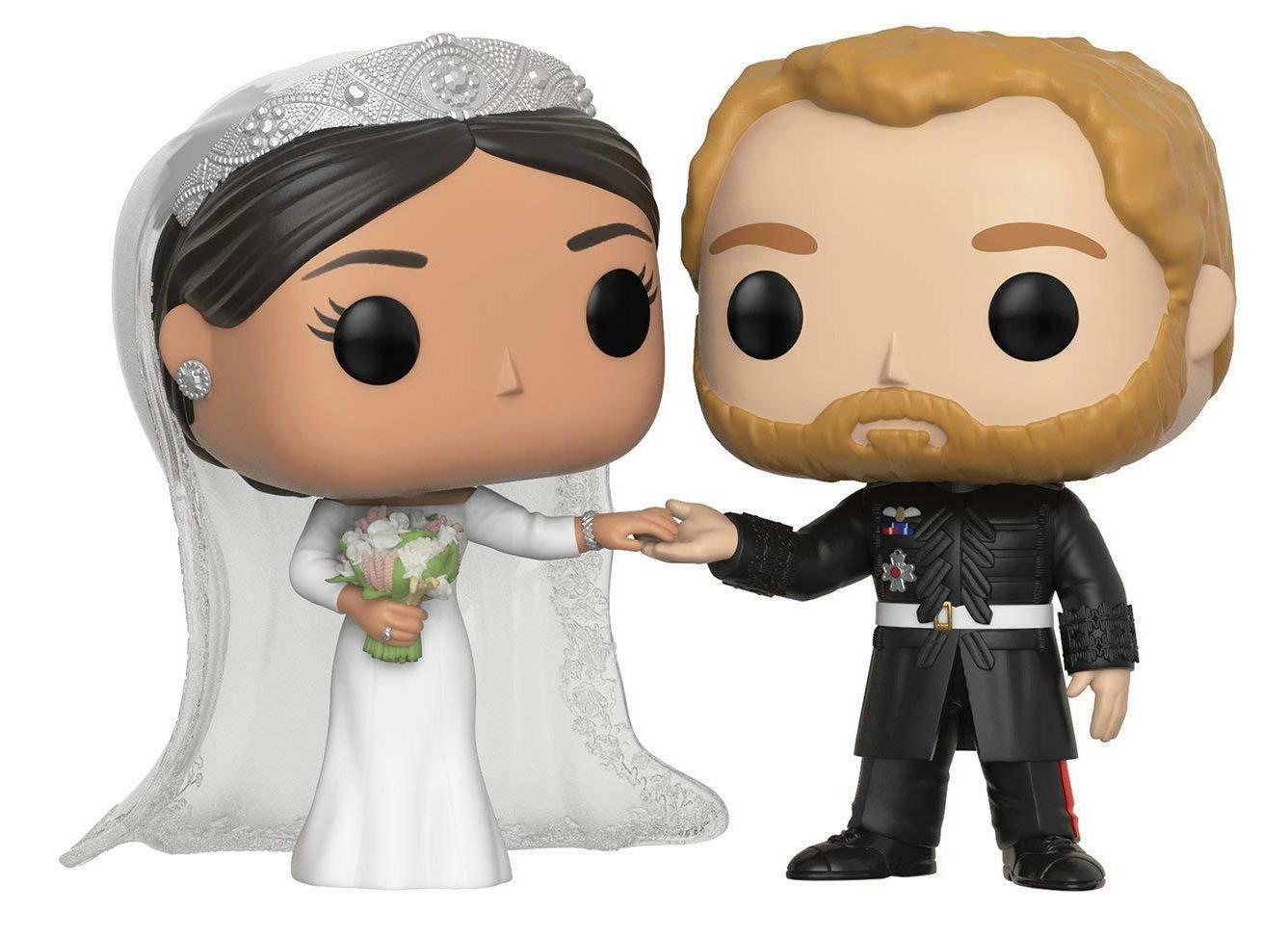 Funko Pop! Royals: Prince Harry and Meghan Collectible #2
