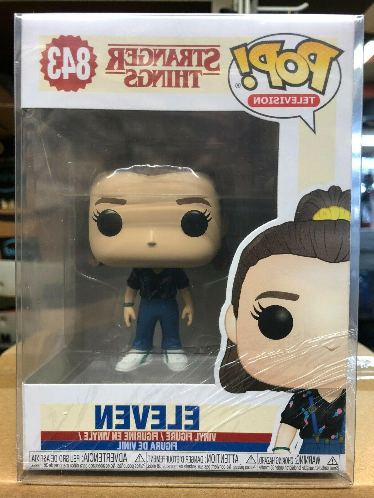 pop television stranger things eleven vinyl figure