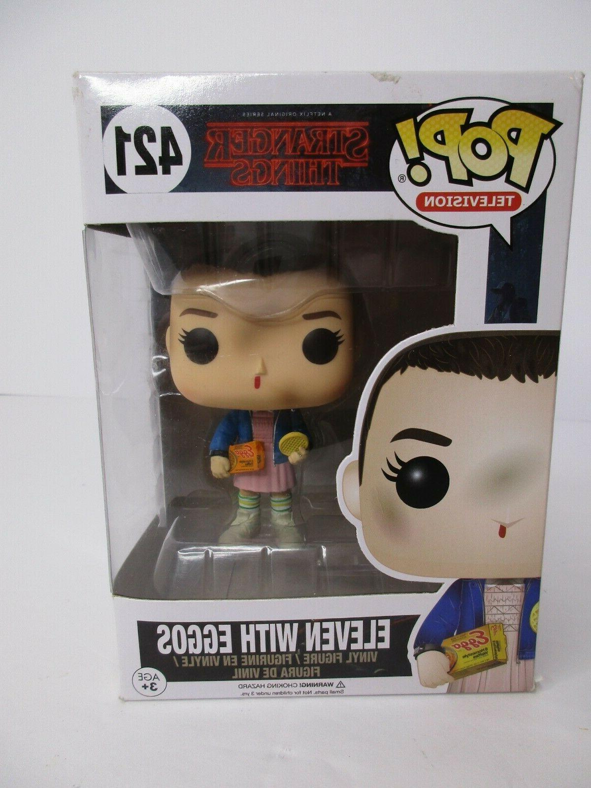 pop television stranger things eleven with eggos