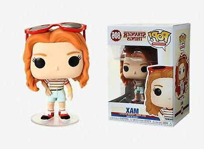 pop television stranger things max vinyl figure