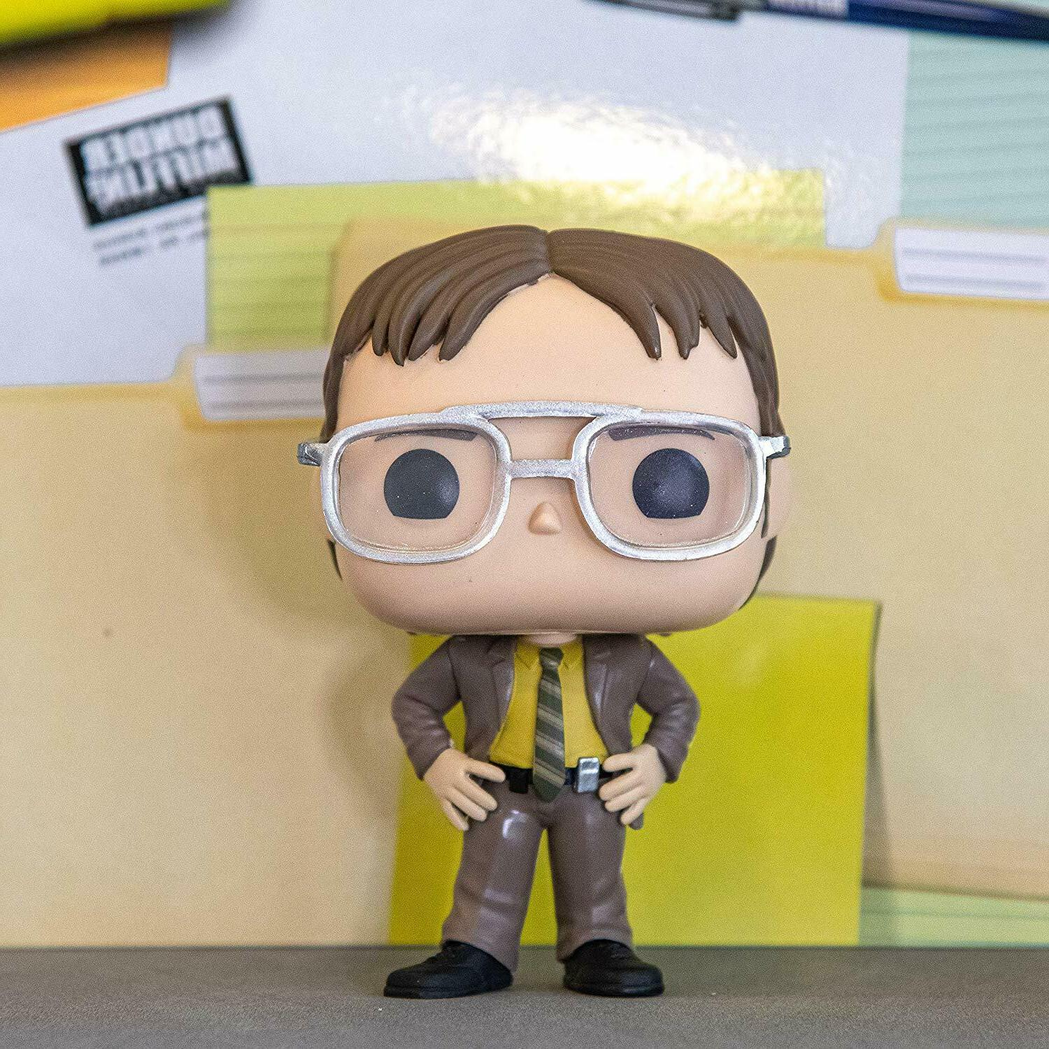 FUNKO POP! TELEVISION: THE OFFICE-DWIGHT SCHRUTE 34906 VINYL IN STOCK