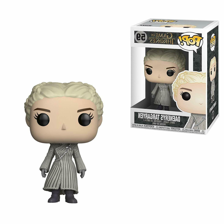 pop tv game of thrones daenerys white