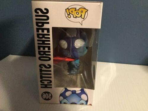 FUNKO Pop SUPERHERO STITCH Exclusive C9+