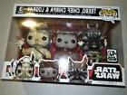 Funko pop vinyl figure 3pk Star Wars ewoks Teebo Chief Chirp