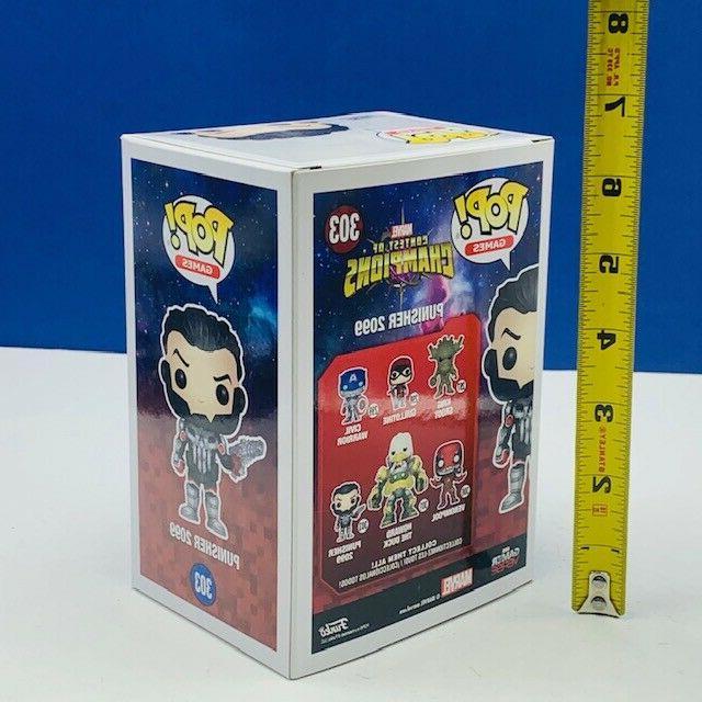 Funko vinyl figure pop box Punisher 2099