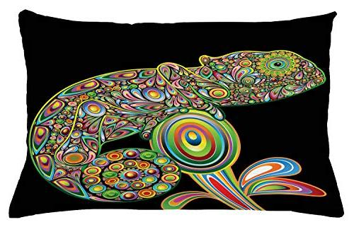 psychedelic throw pillow cushion cover