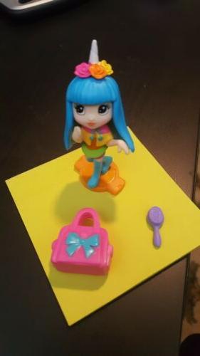 rainbow unicorn surprise mai doll figure rare