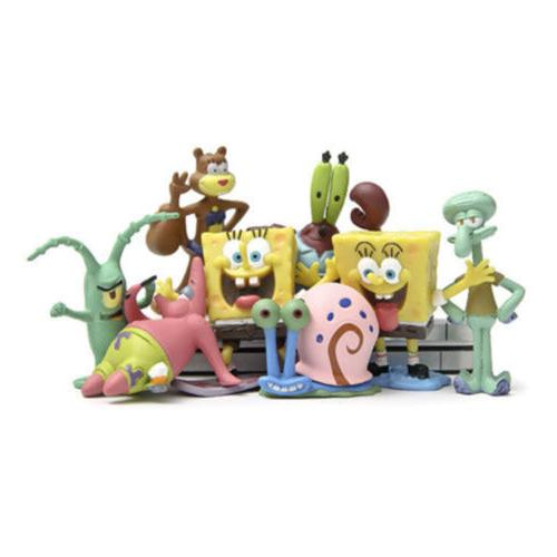 SpongeBob Gary Sheldon 8PCS Figure