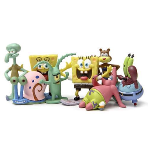 SpongeBob Gary 8PCS Figure