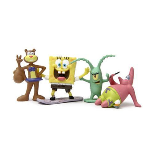 SpongeBob Gary Sheldon 8PCS Action Figure Toy Kid