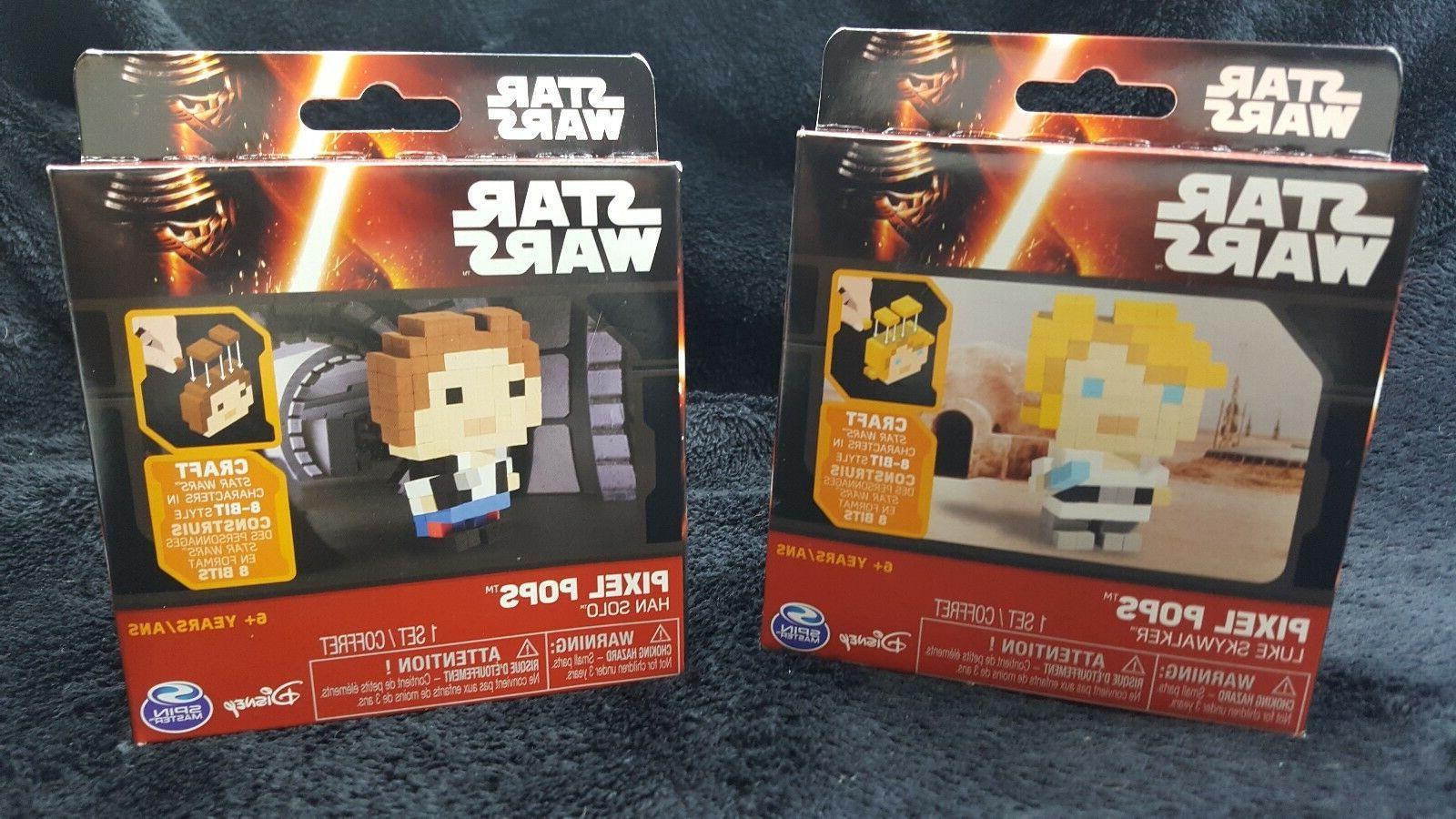 star wars pixel pops han solo