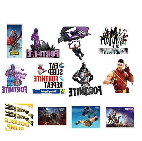 Stickers for Pad Phone Fridge PVC Decal Sticker - 45 Pcs