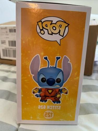 Stitch Funko Pop Vinyl Action Disney Damaged Box