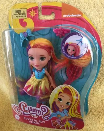 Sunny Day Pop-In Style Fashion Doll Figure Nickelodeon NEW 7