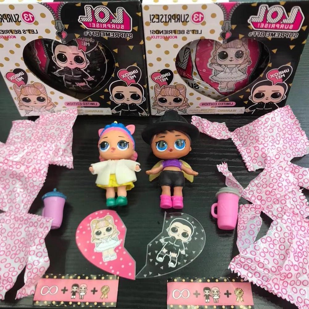Surprise Dolls Change Egg Series Dress Doll Magic Ball Kids <font><b>Toys</b></font> For Children Christmas