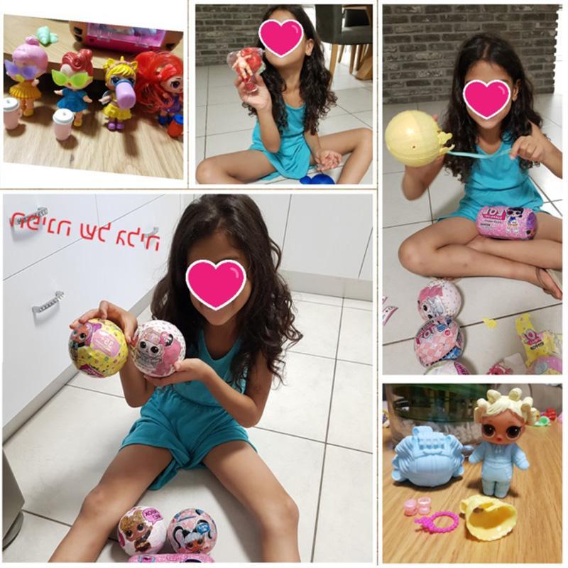 Surprise LOLS Change Egg Confetti <font><b>Pop</b></font> Series Doll Ball Action Kids