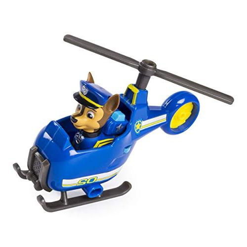 PAW Patrol Ultimate Chase's Mini Helicopter with Collectible Figure, and Up