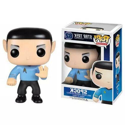 vinyl pop 82 spock star trek series