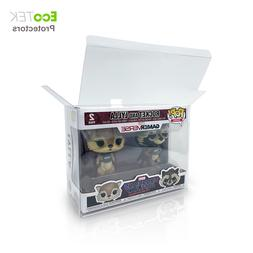 Lot 1 4 30 40 Collectible Funko Pop Protector Case for 2-Pac
