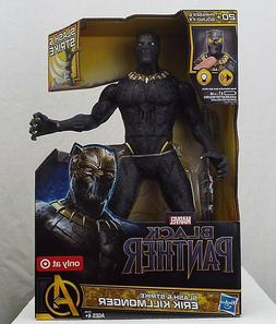 "Lot of 2 NEW Marvel Black Panther Slash and Strike 13"" Elect"
