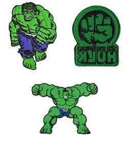 Marvel Avengers Hulk 3 Pack Patch Gift Set